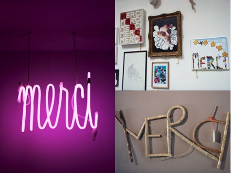 Merci, a Greening Paris fave!